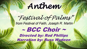Festival of Palms (3-28-2021)