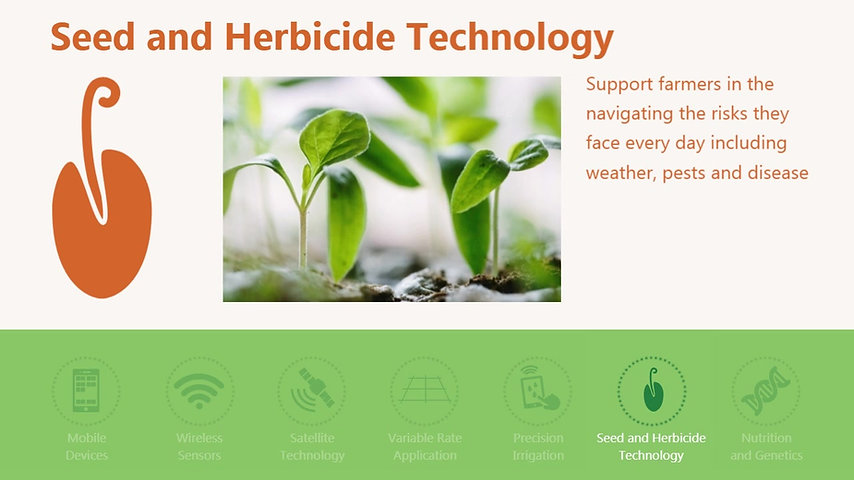 11. Seeds and Herbicides