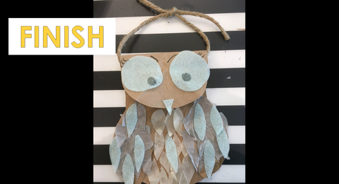 LYHA Digital: Paper Bag Owl