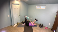 30 min Booty N Abs (Bands or Weights) with Holly