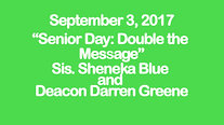 Senior Appreciation Sunday