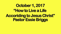 How to Live a Life According to Jesus Christ