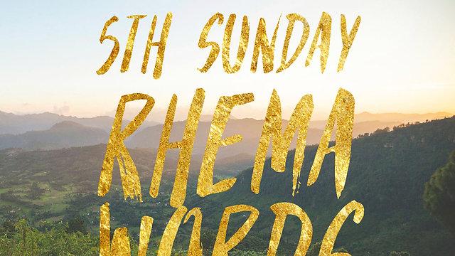 5th Sunday Rhema Word