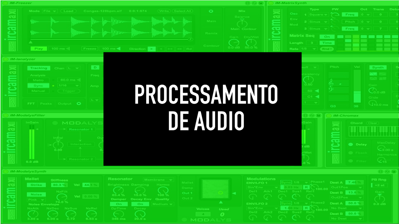 AUDIO PROCESING