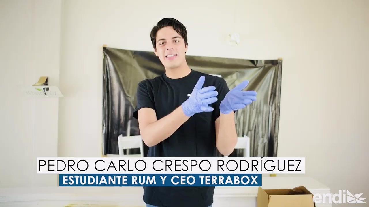 Joven busca popularizar los huertos caseros con su producto TERRABox