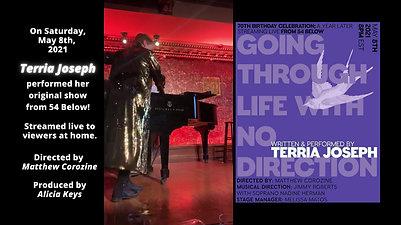 Terria Joseph at 54 Below!