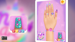 Nail Art Game 💅  manicure and accessories