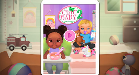 Chic Baby 2 - Dress up & baby care game