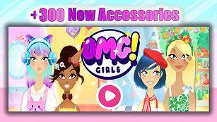 OMG! Girls ✂ New Hair Salon Game