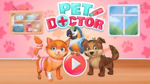 Pet Doctor - Fun pet care game