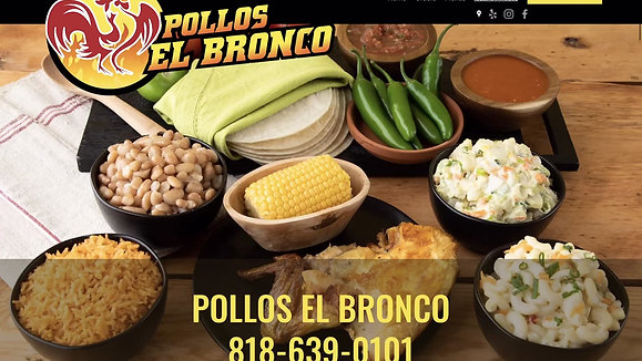 Pollos el Bronco Website