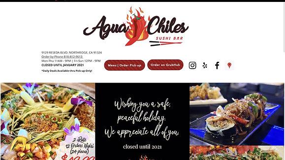 Agua Chiles Sushi