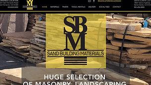 Sand Building Materials