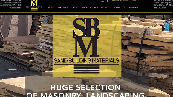 Sand Building Materials