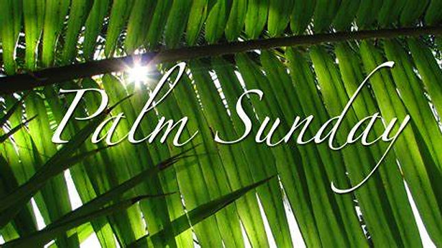 """March 28th, 2021! Message: """"Palm Sunday: Prelude To Calvary."""""""
