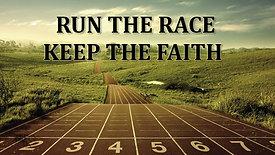 August 15, 2021, It's Run The Race Sunday!