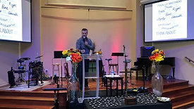 Nov 22, 2020 Thanksgiving Message from Youth Pastor Zach Gayton.