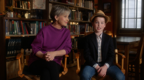 Annie Potts and Iain Armitage Talk About the White Pony General Store