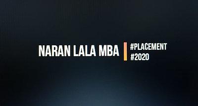 Naran Lala MBA 2020