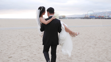 Christine & Tony - Santa Monica, California