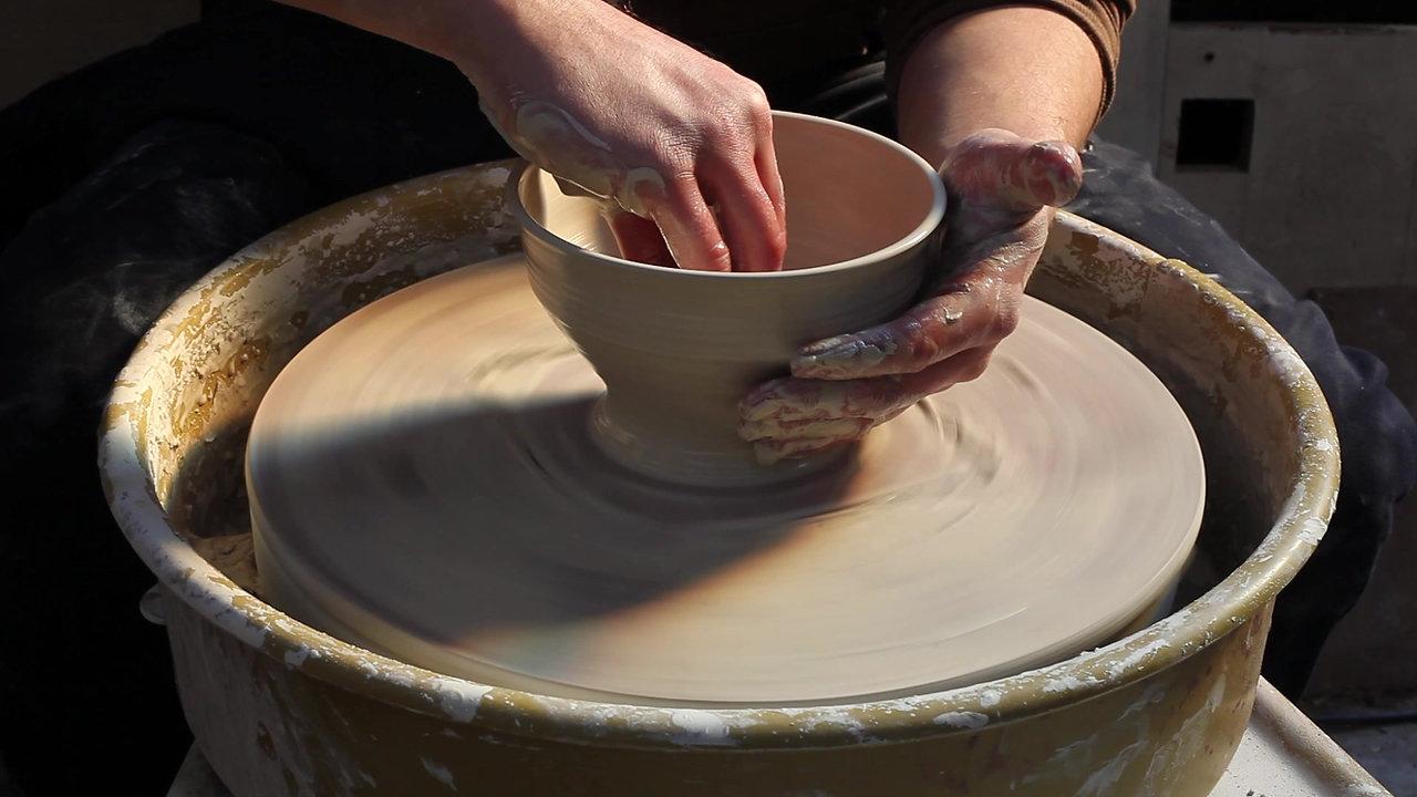 Making of White Bowl