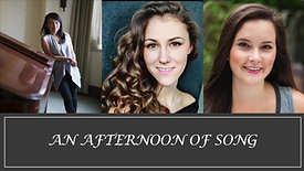 An Afternoon of Song - Concert Series 1