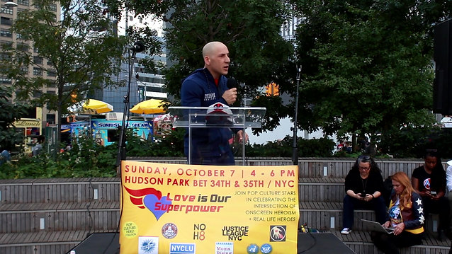 Kevin Hines - Love is Our Superpower Rally