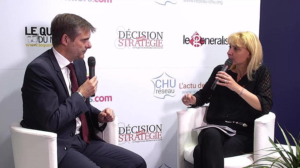 Paris Healthcare Week 2018 : Entretien avec le Dr Olivier Heinzlef