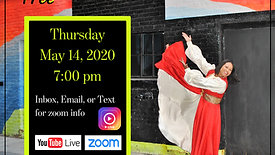 Free Virtual Choreography Class - May 14, 2020