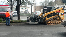 Mini Excavator Grinder Attachment