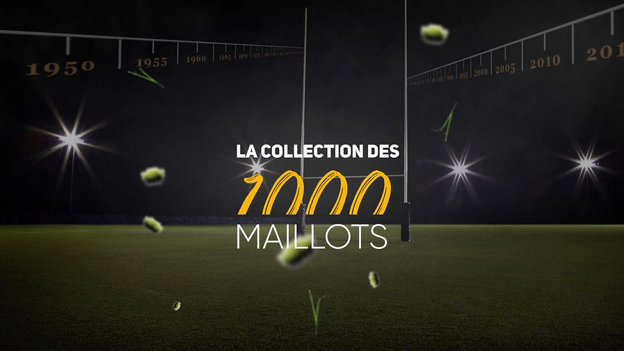 La collection des 1000 maillots