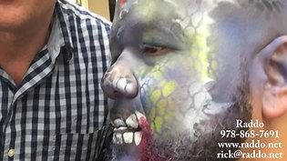 Raddo Airbrush Face painting and Balloons -Dragon man