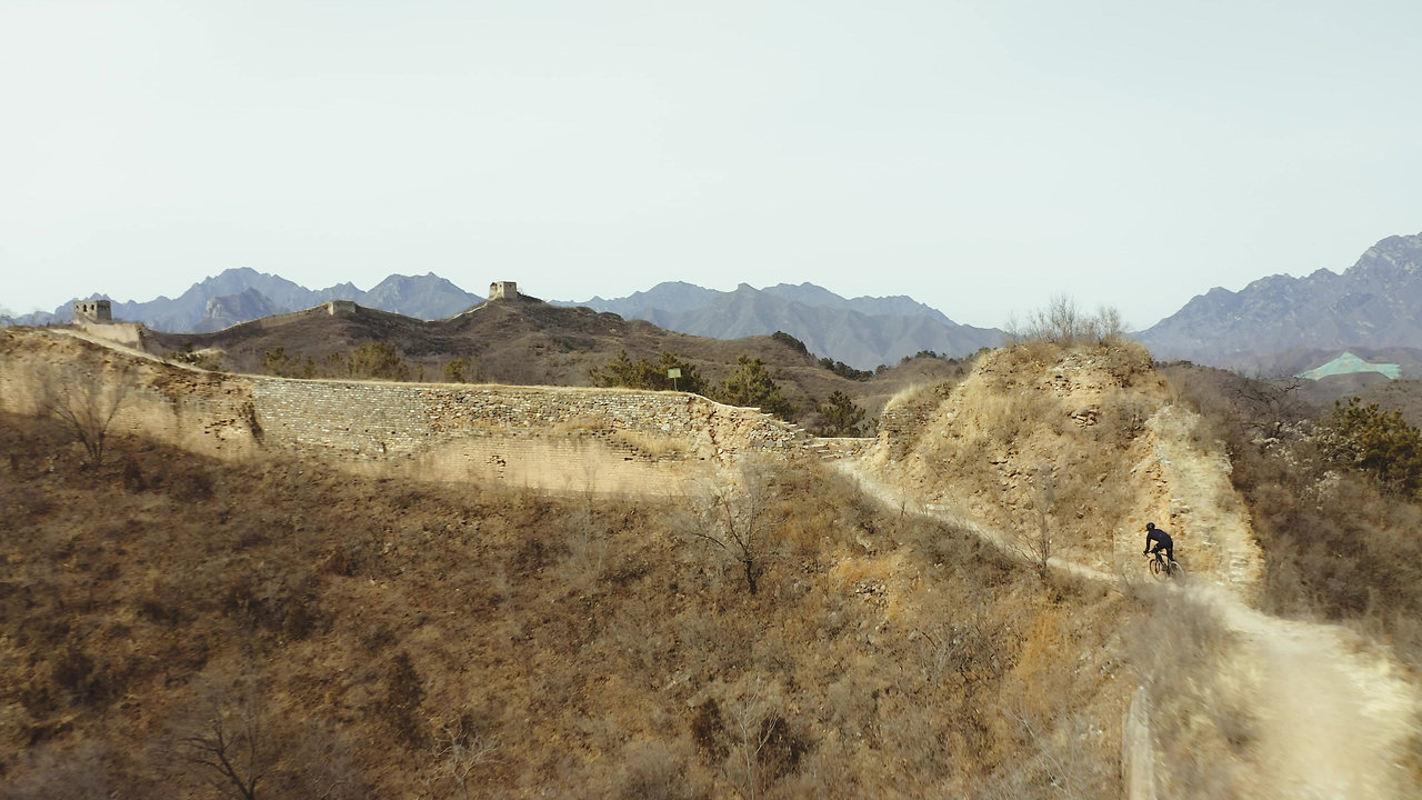 The Great Wall of China : The most EPIC place on earth to ride a bike