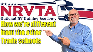 How is the NRVTA different from the other trade schools_