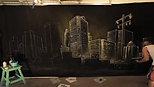 timelapse city background