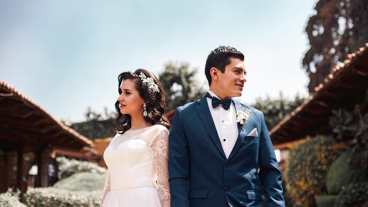 Tania y Efrain Boda Civil