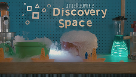 Little Discoveries: Dry Ice Bubbles