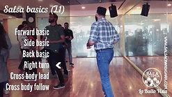 Salsa (L1) Basics Footwork