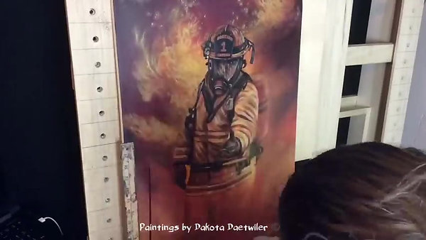 Firefighter benefit timelapse