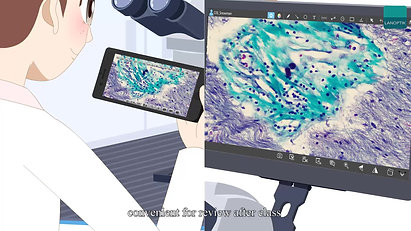 5G WiFi Digital Microscope Interactive System_2020_1080P
