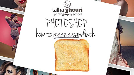 Photoshop Lesson 1 How to Make a Sandwich