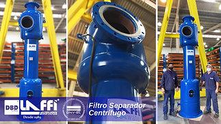 Filtro Separador Centrífugo
