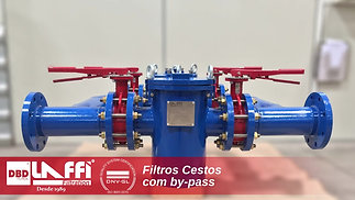 Filtro Cesto com By-Pass