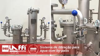 Sistema de Filtração com By-Pass