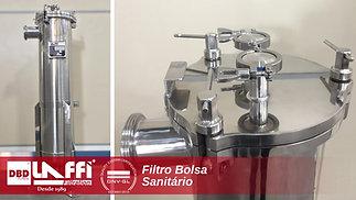 Filtro Bolsa Sanitário