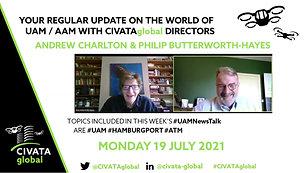 CIVATAglobal - #UAMNewsTalk - 19 July