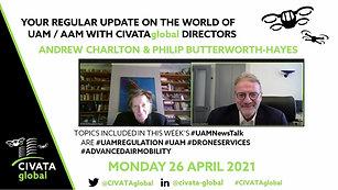 CIVATAglobal - #UAMNewsTalk- 26 April