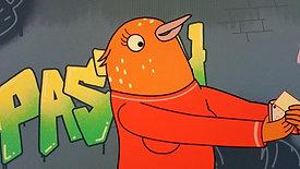 Spanish Animation sample from Tuca and Bertie / Bojack Horseman