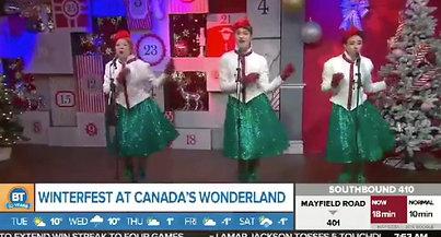 The Mistletones Breakfast Tv Performance