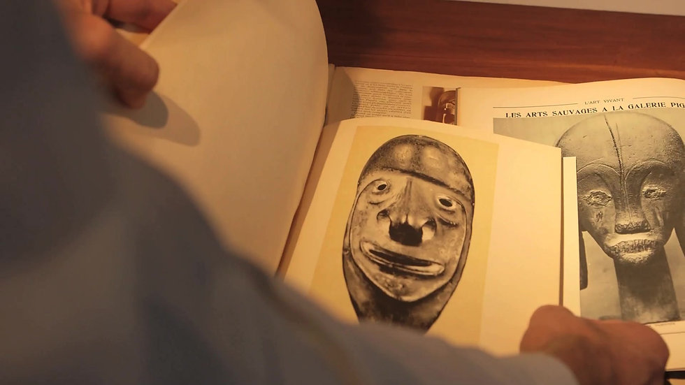 Exposition Galerie Pigalle: Afrique, Océanie. 1930